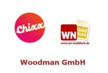 Woodman mit Mobilfunkdienstleistungen für Chixx und WN Mobilfunk