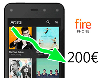 Amazon Fire Phone unter 200 Euro erhältlich