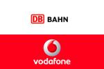 DB bahn und Vodafone