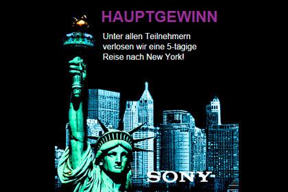 Sony Xperia und Traumreise in die USA gewinnen