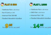 deutschlandsim flat s 500 und flat l 1000