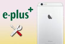 E-Plus erhält von Apple ein Netzbetreiber-Profil für iPhones