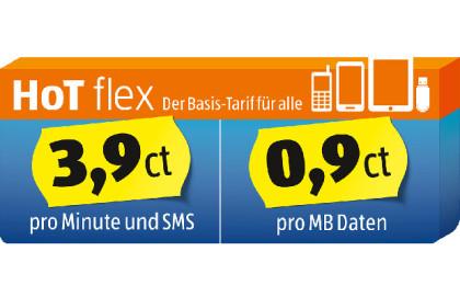 Basis Prepaid-Tarif von Hofer Telekom