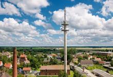LTE Antenne auf dem Land