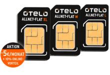 Otelo 5 Euro/Monat Rabatt + 10 Prozent Vorteil