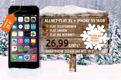 otelo: Allnet-Flat XL und iPhone 5s