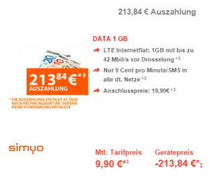 preisboerse24 simyo data 1-gb