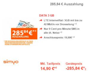preisboerse24 simyo data 3-gb