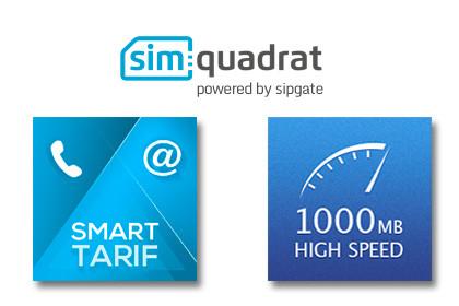 simquadrat informiert per SMS über Daten-Upgrades