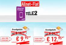 Allnet-Flat + 500 MB und Allnet-Flat + 1.000 MB