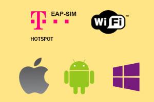 HotSpots der Telekom - Automatische Einwahl