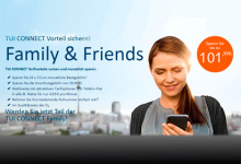 TUI Connect-Tarife: Wie erwartet ohne Roaming-Kosten