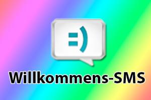Willkommens-SMS