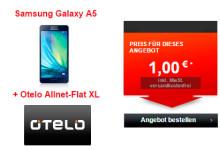 Galaxy A5 + Otelo Allnet-Flat XL
