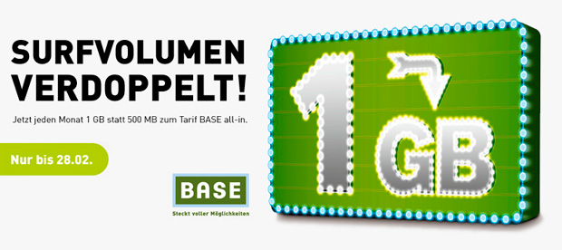 BASE All-in Aktion