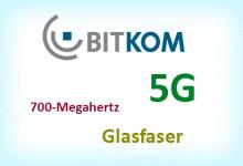 BITKOM kündigt neue Frequenz, Glasfaserausbau und 5G an