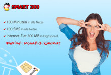 DeutschlandSIM Smart 300 Aktion