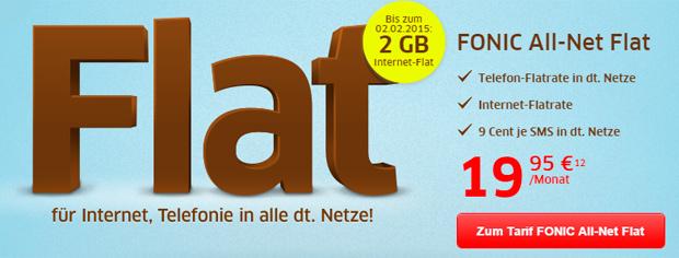 Fonic 2 GB Datenvolumen