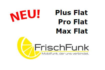 FrischFunk: Neue Allnet-Flats mit Datenvolumen