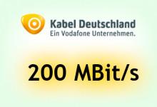 Kabel Deutschland sorgt in München für 200 MBit/s