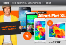 modeo Allnet-Flat XL inkl. Smartphone + Tablet