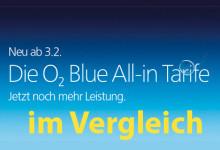 o2 blue tarife im Vergleich