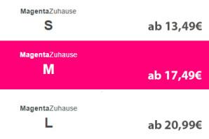Telekom MagentaZuhause: DSL- & Festnetz-Flat ab 13,49 Euro/Monat