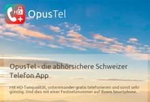 Verschlüsselungs-App für Telefonie OpusTel
