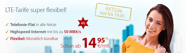 PremiumSIM: 25 Prozent Rabatt auf Allnet-Flats