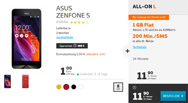 Zenfone 5+ All-on L von Simyo