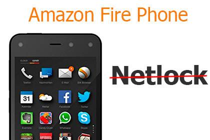 Amazon bietet Netlock-Entfernung beim Fire Phone an