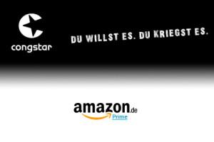 Congstar und Amazon