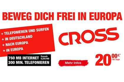 Ortel Mobile: Einfaches EU Roaming durch Cross Tarif-Option