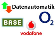Ratgeber zur Datenautomatik von BASE, Vodafone und o2