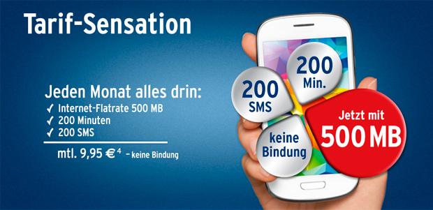 Tchibo Smartphone-Tarif