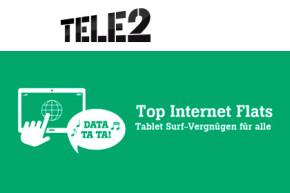 Tele2 mit neuen Daten-Tarifen am Start