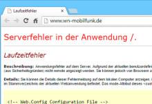wn-mobilfunk.de nicht erreichbar