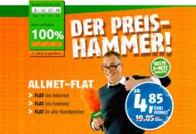 Crash-Tarife: Smartphone-Tarif für nur 4,85 Euro im Monat