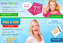 discoPLUS Flat S-Tarif Aktion und WinSIM Smart 500 Aktion