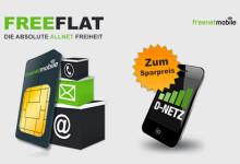 FreeFLAT tarif Aktion