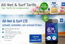 GMX.de und WEB.de All-Net & Surf LTE