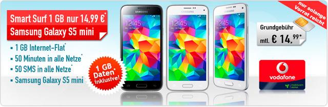 handybude Samsung Galaxy S5 mini + Smart Surf