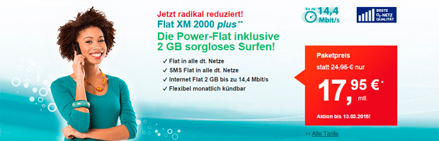 helloMobil Flat XM 2000 plus