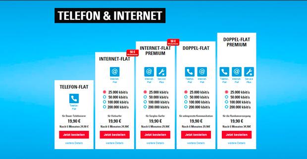 netcologne Telefon und Internet