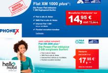 Phonex und helloMobil Aktions