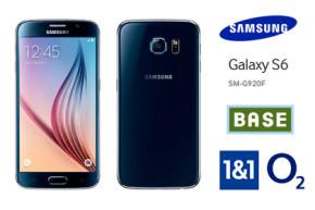 Samsung Galaxy S6 bei o2, BASE und 1&1 bestellbar