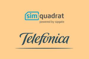 simquadrat und Telefonica