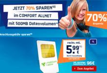 Allnet und Daten-Flat von Talkline für effektiv nur 5,99 Euro