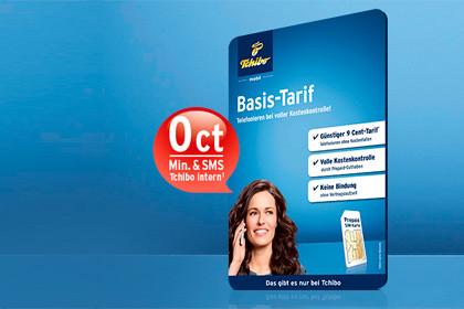Tchibo mobil: Community-Flat gratis zum Basis-Tarif