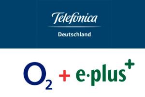 Telefonica o2 und E-plus